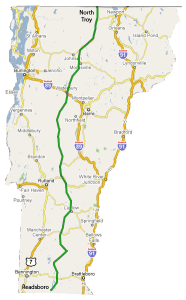 The 100 200 Route 100 200 Map
