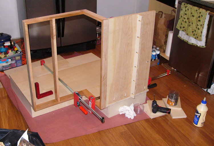 Corner Lazy Susan Cabinet Installed Pete Brown S 10rem Net