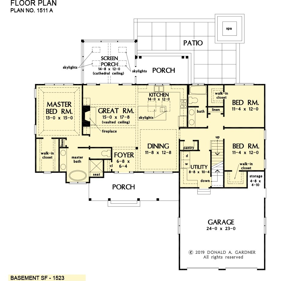 Ranch House Plans Simple One Story House Designs | Stairs In House Plans | Residential | Upstairs Dream House | Grand Staircase | Sweeping Staircase House | Balcony