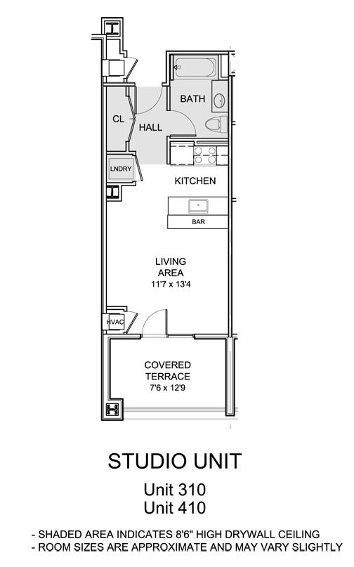 Self Storage Architectural Floor Plans