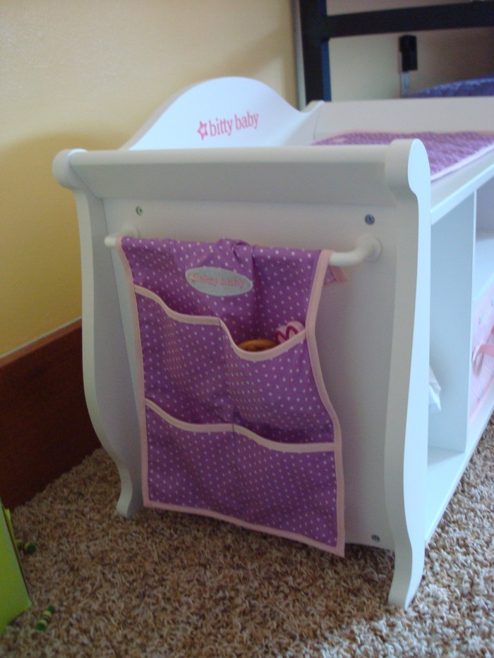Review Bitty Baby Changing Table Small Dolls In A Big World