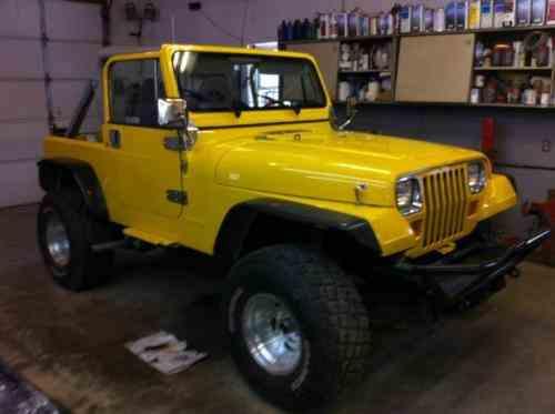 Jeep Wrangler 1987 Frame Off Restoration Gm 350 V8 One