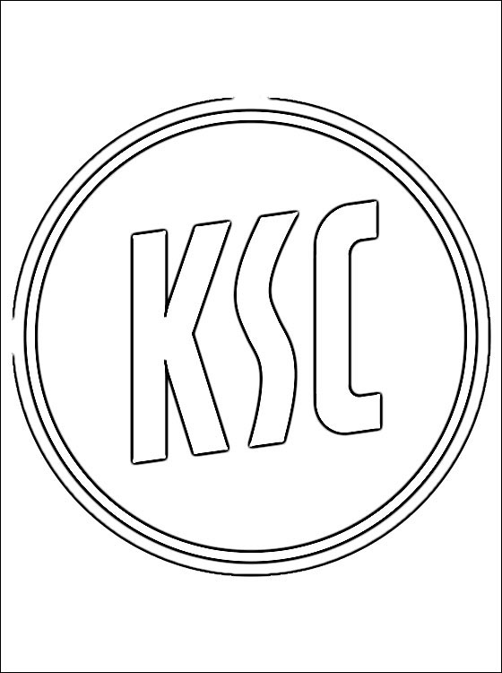 Logo karlsruher sc coloring page coloring pages, love birds coloring pages