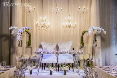 Elegant Ivory and Silver Wedding | ElegantWedding.ca