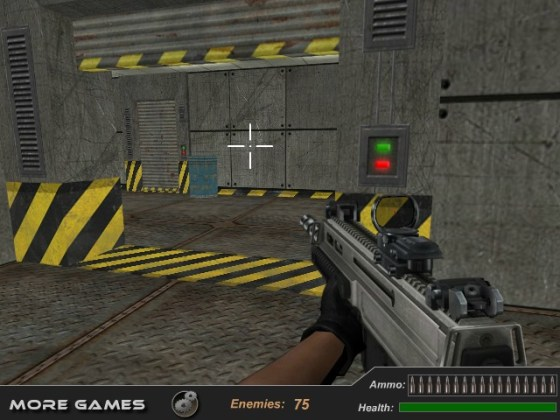 Bullet Fury shooter game First Person Shooter one soldier against     Bullet Fury shooter game First Person Shooter one soldier against all enemy  image play free