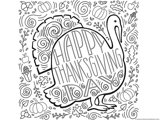 thanksgiving coloring pages printables # 22