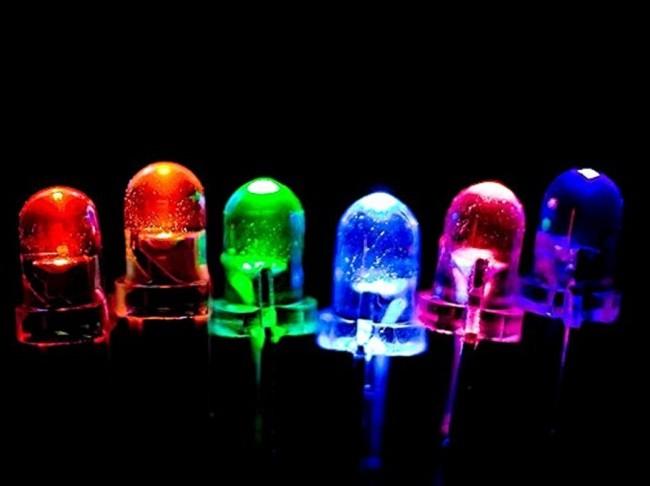 Außenansicht der LEDs
