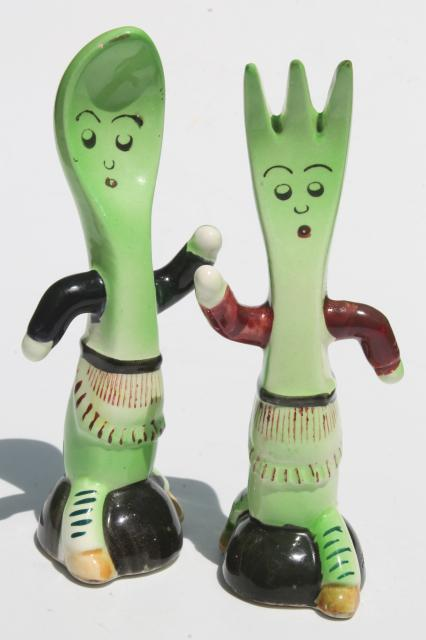 Individual Salt And Pepper Shakers