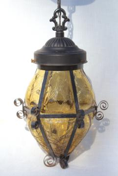 lantern pendant with shade # 40