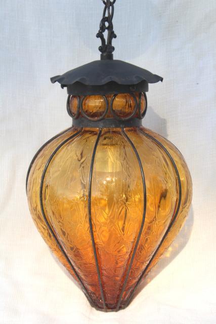 Mid Century Pendant Light