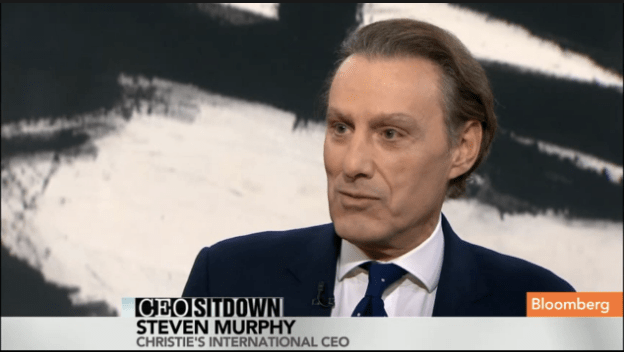 Christie's Murphy on Bloomberg