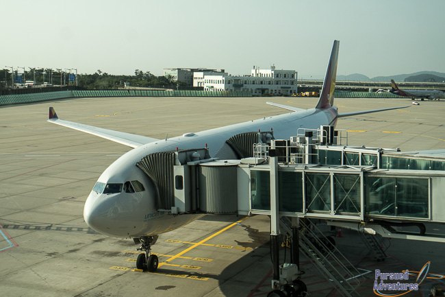 Review Asiana Airlines Business Class Seoul To Narita