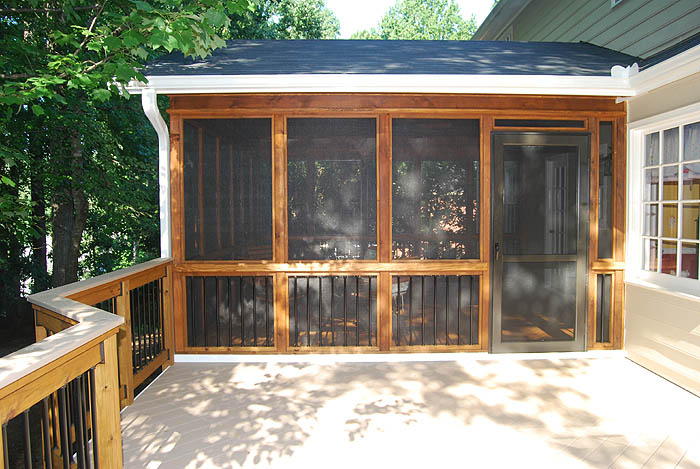 Screened Patio Pictures