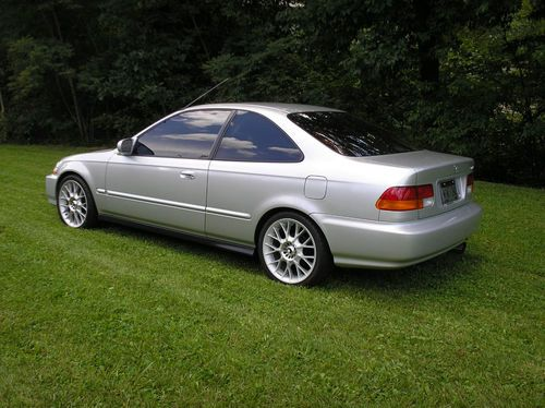 1998 Honda Civic Ex Specifications