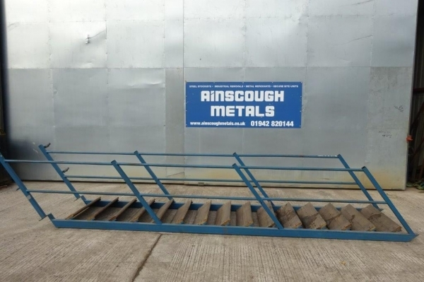Steel Staircase And Ladders From Ainscough Metals For Sale   Metal Staircase For Sale   Prefab   Outdoor   Contemporary   Tangga   Steel Structure