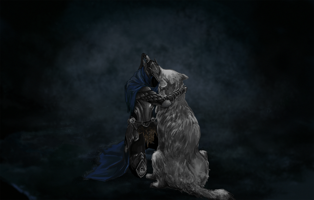 Souls Sif Sad And Artorias Dark