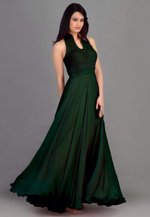 Navy Evening Gown Blue Velvet