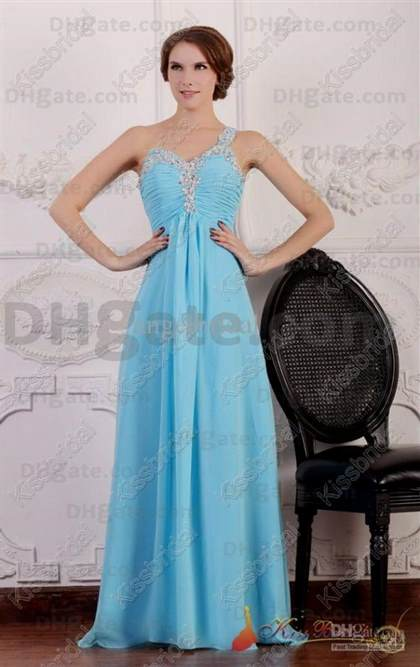 Cheap Light Blue Dress