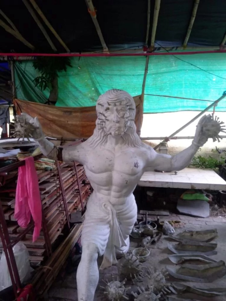 """Young Boys Club celebrates 52nd Year of Durga Puja with the theme """"Durga – The Destroyer of Corona"""""""