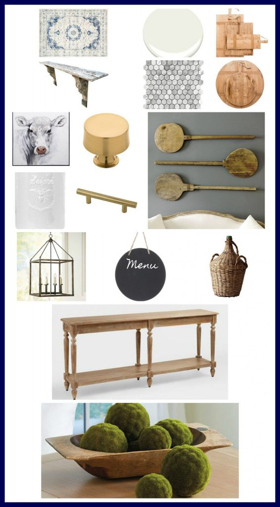 Kitchen Makeover Mood Board Plan And Design 2 Bees In