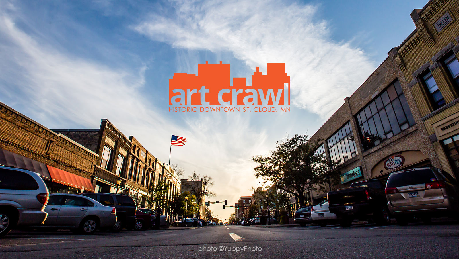 St Cloud Art Crawl     Visit Greater St  Cloud Celebrate and experience the work of talented Central Minnesota artists  while enjoying the warmth and charm of locally owned shops  businesses and  eateries