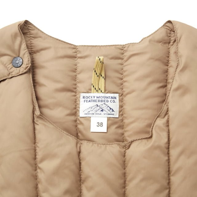 Rocky Mountain Featherbed - SIX MONTH VEST PULLOVER 輕羽絨背心 5