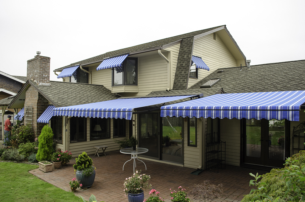 blue deck awnings