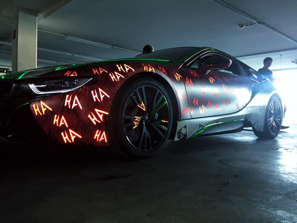 Wild Quot Joker Quot Bmw I8 Is Unlike Any Other Car On The Road