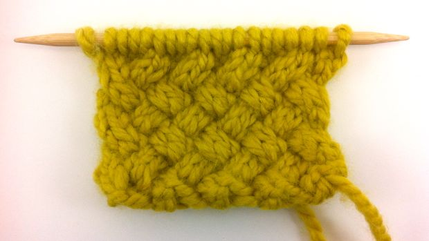 Twisted Pattern Knit Cable