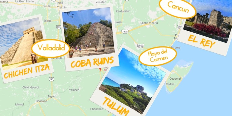 mayan ruins yucatan peninsula mexico map » Path Decorations Pictures ...