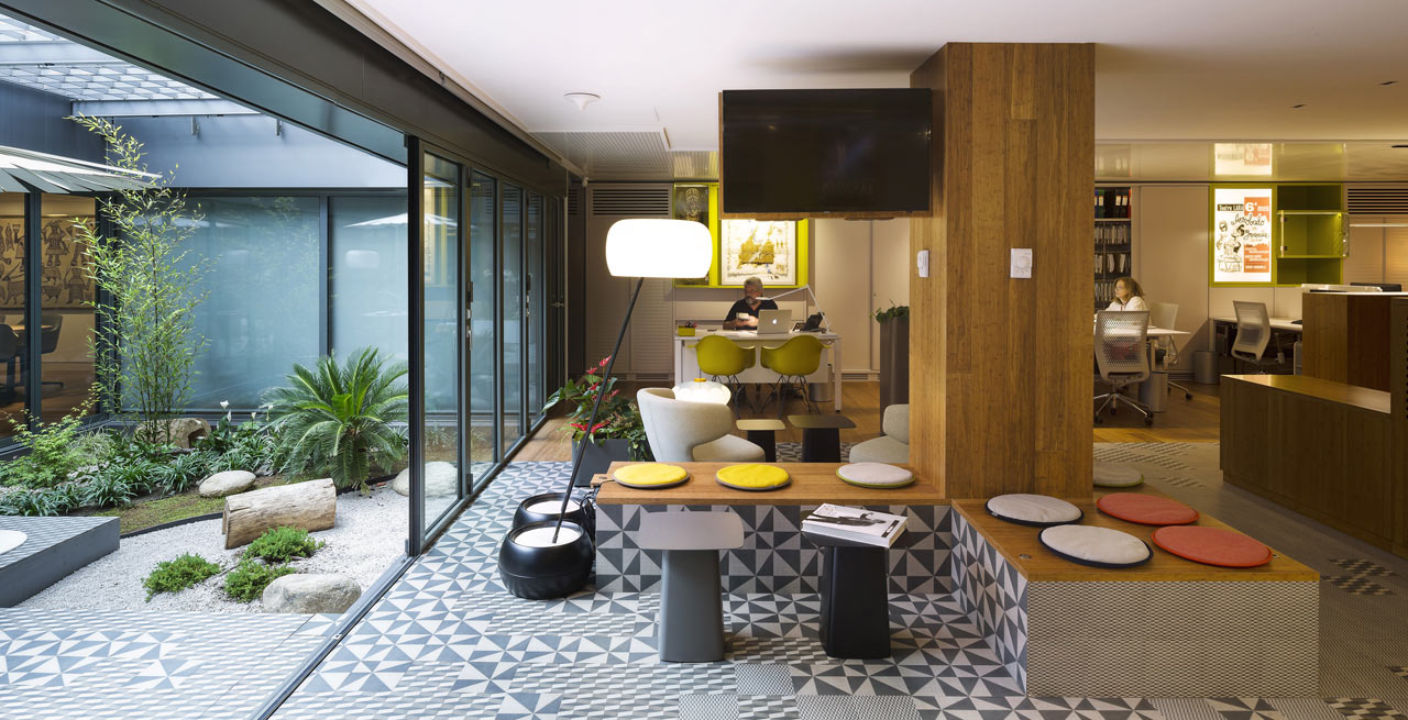Tv Production Company Renovation In Madrid Design Milk