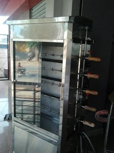 Commercial Kitchen Equipment Chicken Grill Machine