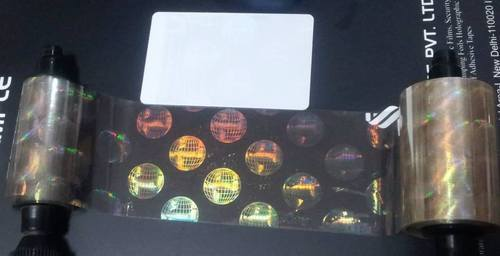 Holographic Varnish Films For Pvc Card Printers Secure