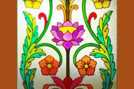 Painting On Glass Counting Miles With Cherries Design The Best Faux Stained Ideas Pinterest