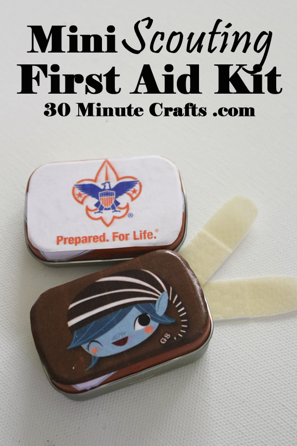 Mini Scouting First Aid Kit 30 Minute Crafts