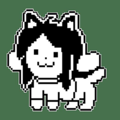 Undertale Undyne Pixel Art Grid