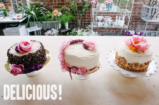 How To  A Trio of Grocery Store Wedding Cakes   A Practical Wedding turning grocery store cakes into wedding cakes
