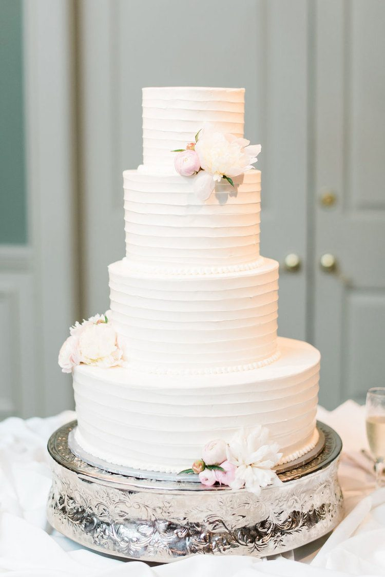 Wedding Cake Ideas That Are Delightfully Perfect   A Practical Wedding classic white wedding cake
