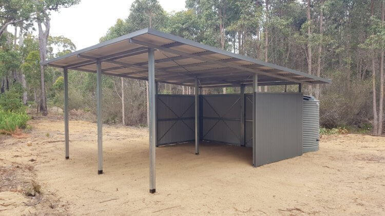 Paddock Shelters Shed Force
