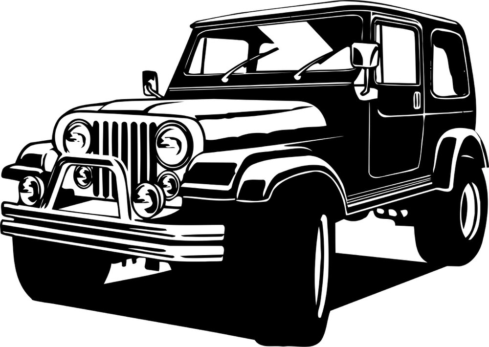 Jeep 4 215 4 Free Vector Cdr Download 3axis Co
