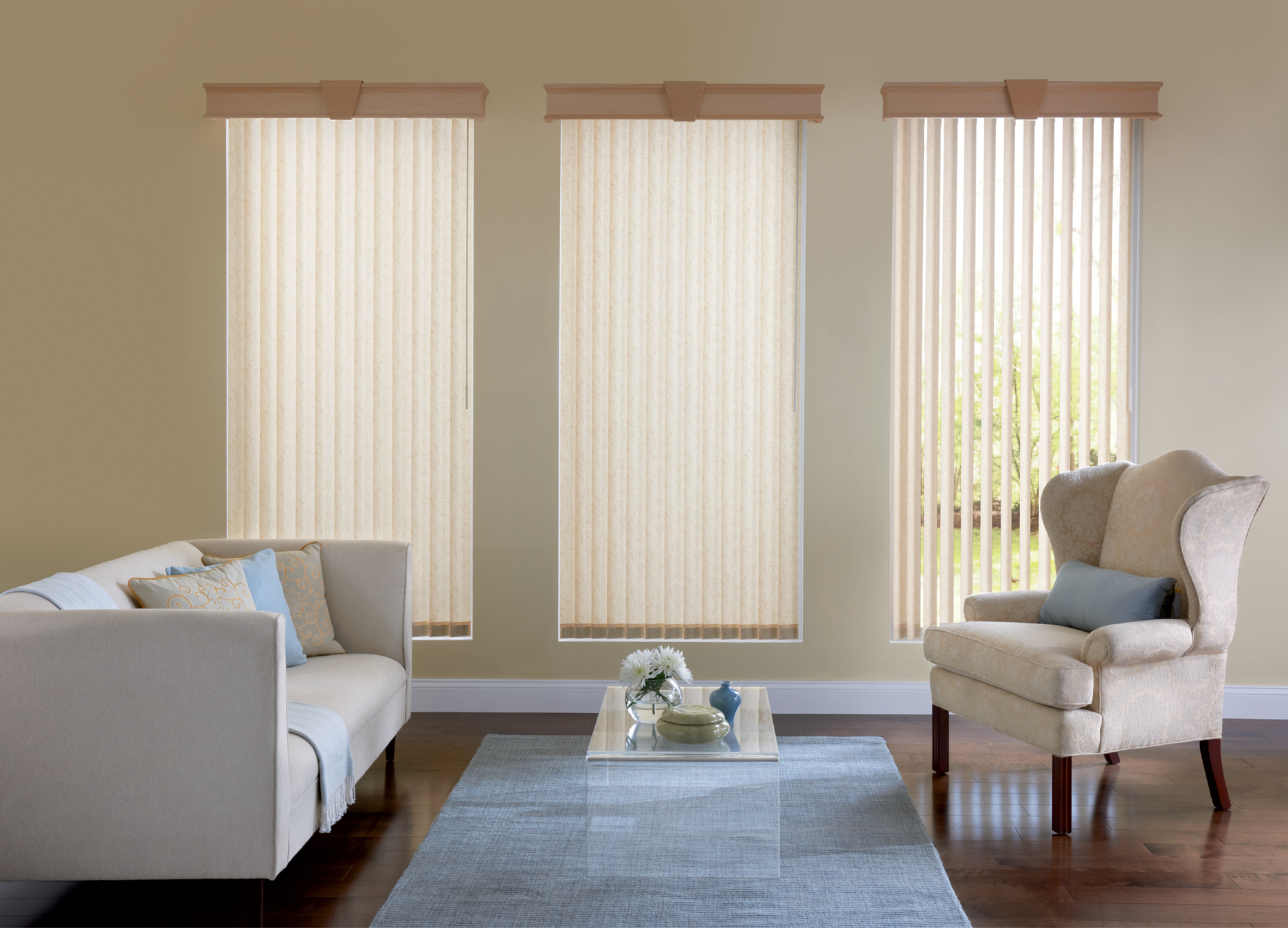Roman Blinds Large Windows