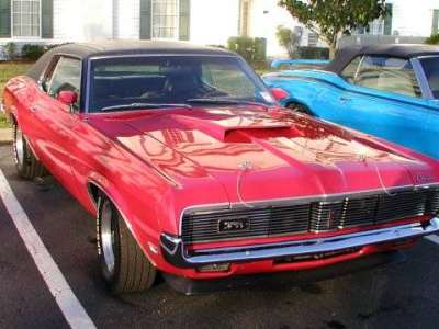 Car Blog Showdown   69 American sports cars   The CarGurus Blog 1969 Mercury Cougar