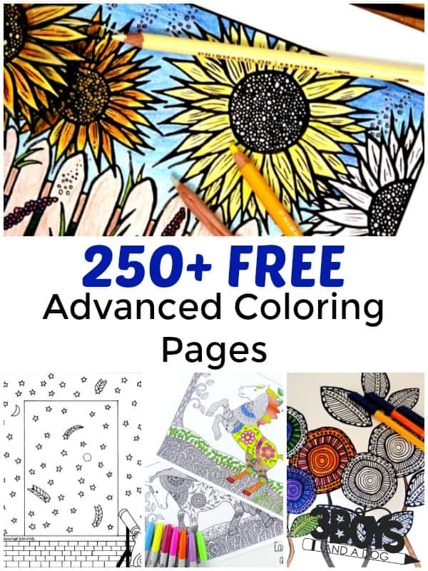 free advanced coloring pages # 75