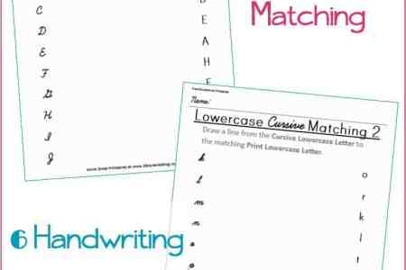 Cursive M Worksheet Education Com Third Grade Reading Writing Worksheets Lowercase And Uppercase Alphabet TeacherVision