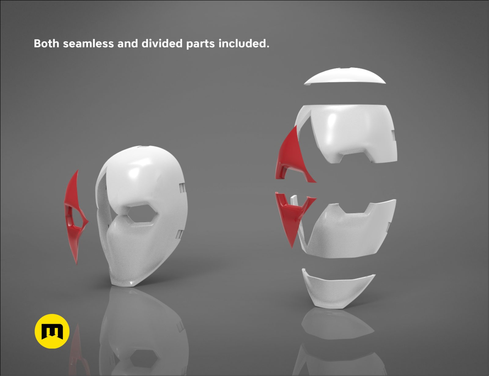 Fortnite High Stakes Wild Card Masks Bundle 3d Print