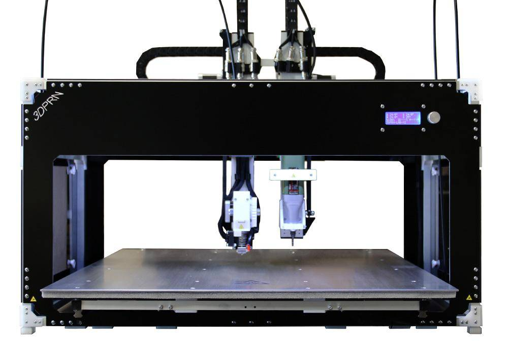 Stampante 3D professionale lab x2 mill