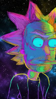 Wallpaper Rick And Morty iPhone Background | 2019 3D ...