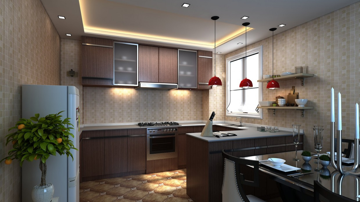Kitchen Interior Design Description