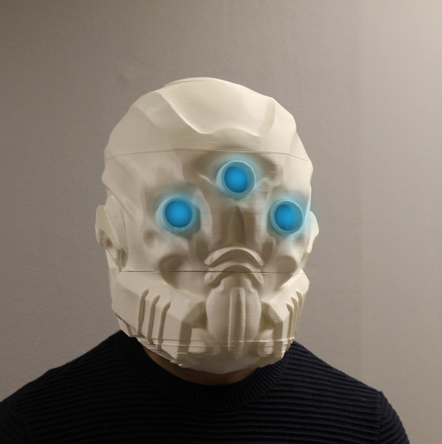 You Can Now 3d Print Your Very Own Mask Of The Third Man From Destiny 3dprint Com The