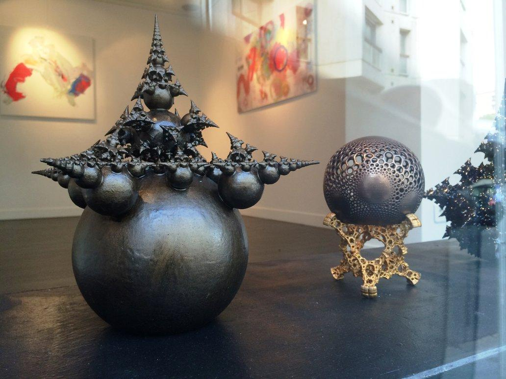 The Beauty Of Math These 3d Printed Fractals Will Blow